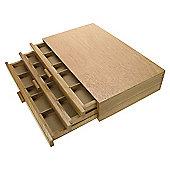 Artist Wooden Storage Boxes 3 Drawer