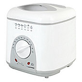Home Essence 1 Litre Compact Deep Fryer in White