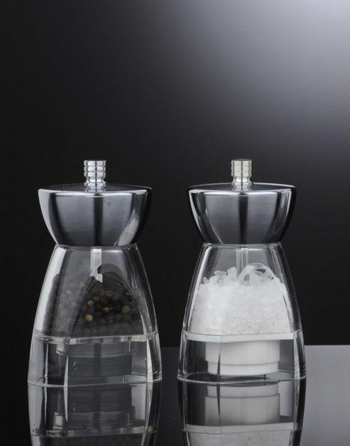 David Mason Design Stella Salt and Pepper Mill Set