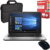 "HP 250 G5 15.6"" Laptop Intel Core i5-6200U 16GB 256GB SSD With Internet Security, Mouse & Case"