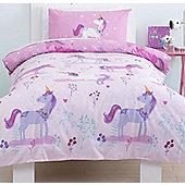 Magical Unicorn, Girls Single Bedding