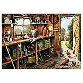 Games The Garden Shed 500 Pieces Jigsaw Puzzle