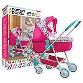 Mamas & Papas Urbo 3 in 1 Junior Dolls Pram