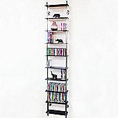 Techstyle 10-Tier Wall Shelf