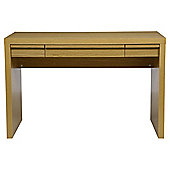 Tribeca Straight Desk Oak