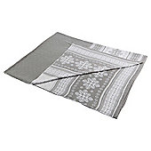 Scandi Throw Grey