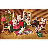 Sylvanian Families Log Cabin Living Room Furniture Set