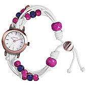 Kahuna Ladies Beaded Friendship Bands Watch - KLF-0016L