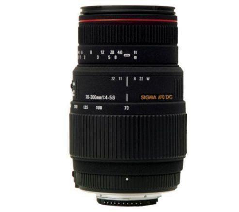 Sigma 70-300mm APO f/4-5.6 DG APO Macro Nikon fit Lens