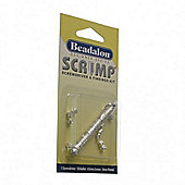 Beadalon Scrimp Fdg Kit Sp 10Scps 6X Sc