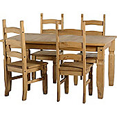 Home Essence Corona 4 Chair Dining Set
