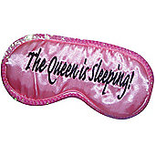 The Queen is Sleeping Eye Mask