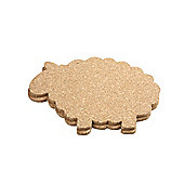 T&G Woodware Ltd Cork Sheep Hot Pot Stand / Tablemat (Set of 2)