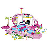 Mega Bloks Barbie - Build n Style Pool Party