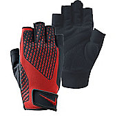 Nike Core Lock II Mens Training Gloves - Black & Red