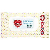 Tesco Loves Baby Pure Newborn Wipes Fragrance Free  64 Wipes
