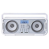 Groov-e Bluetooth Retro Speaker White