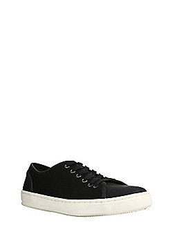 F&F Mixed Texture Baseball Shoes - Black