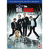 Big Bang Theory - Series 4 - Complete (DVD Boxset)