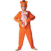 The Muppets Fozzy - Adult Costume Size: 42-46