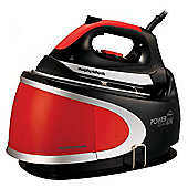 Morphy Richards 33001 power Steam Elite 2400W 6.5 Bar Pressure Iron in Red