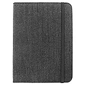 Tesco Finest Leather Kindle Fire HD Canvas Case - Grey