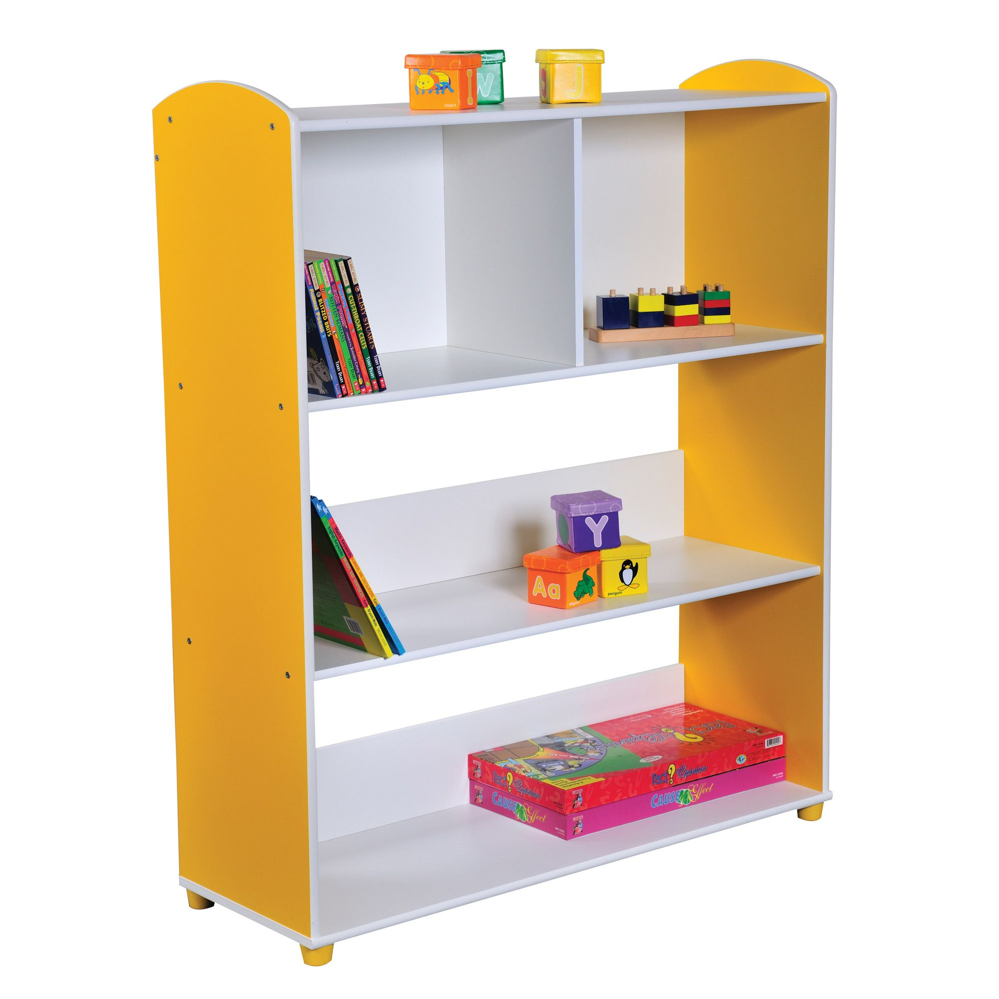 Liberty House Toys Elite Single Straight Unit with 3 Shelves at Tesco Direct
