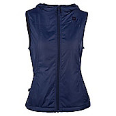Kent Womens Water Resistant Fleece Lined Comfortable Walking Hiking Zipped Gilet - Blue