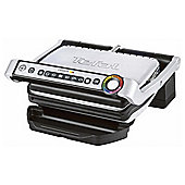 Tefal GC701D40 Optigrill, Stainless Steel & Black