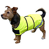 Flectalon Hi Viz Dog Coat Blue 70cm