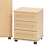 Ideal Furniture Bobby 3 Drawer Chest - Beech
