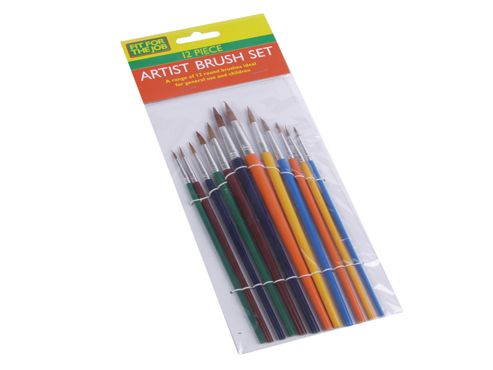 Rodo Ffjabs02 Artist Brush Set 12Pce