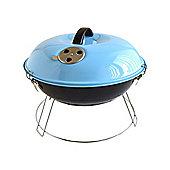 Bar-Be-Quick 35cm Portable Picnic Charcoal Barbecue in Blue