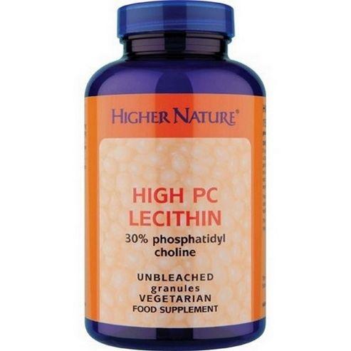 Higher Nature Lecithin Hipc 150g Granules