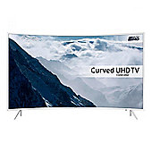 Samsung UE43KU6510 43 Inch Smart Built in Wi-Fi 4K Ultra HD 2160P LED TV with Freeview HD in White