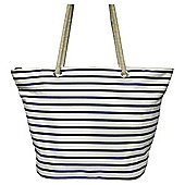 Tesco Stripe Beach Bag