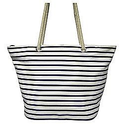 Tesco Stripe Beach Bag