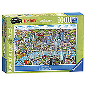 Ravensburger London - Landscape, 1000 Piece Puzzle