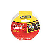 Sellotape 1447052 Double Sided Tape 25mm x 33m (Pack of 6)