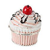 Mini Cherry Cupcake Treasured Trinket Pot