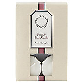 Tesco Apothecary Rose and Black Vanilla Tealights, Pack of 12