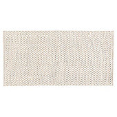 Tesco Textured Rug Natural 80x150cm