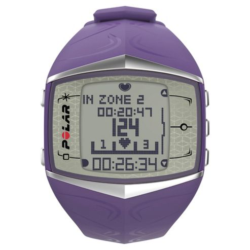 Polar FT60F Sport Watch/Heart Rate Monitor, Lilac
