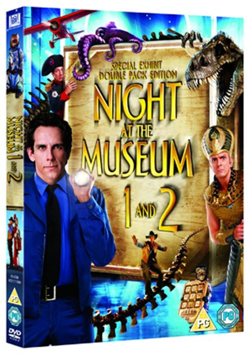 Night At The Museum / Night At The Museum 2 - Escape From The Smithsonian (DVD Boxset)