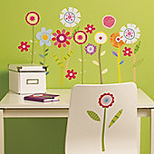 Flower Garden Children's Wall Stickers