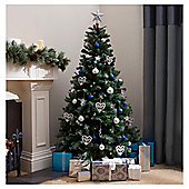 Tesco Snow Alps Spruce Christmas Tree, 6ft