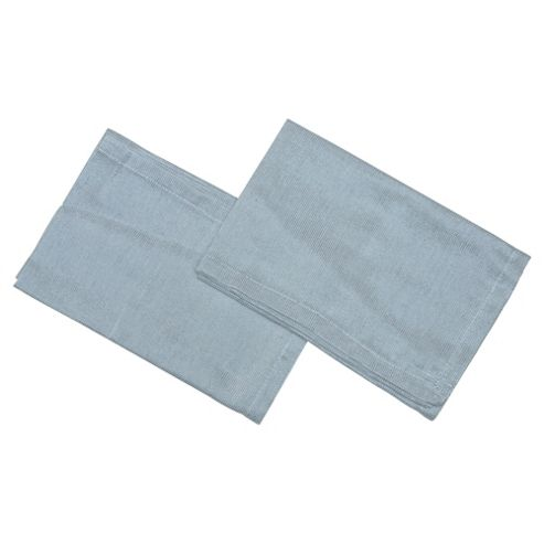 Tesco Silver Napkins 2 Pack