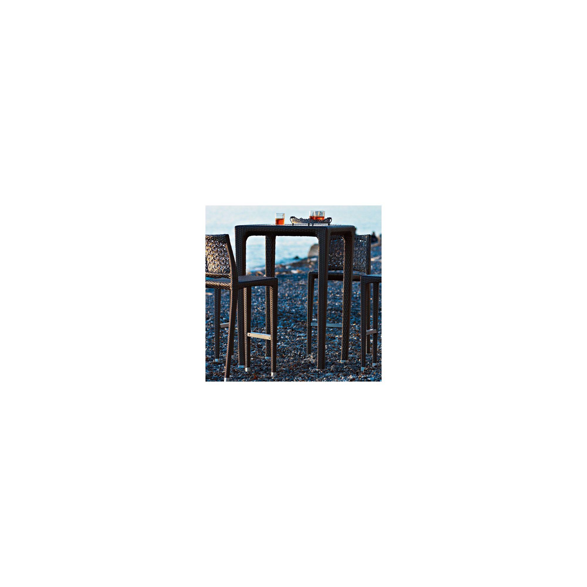 Varaschin Altea High Table by Varaschin R and D - Dark Brown at Tesco Direct