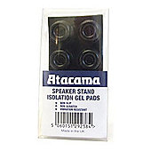 ATACAMA SPEAKER STAND ISOLATION GEL PADS (SET OF EIGHT) (BLACK)
