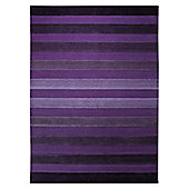 Esprit Cross Walk Violet Contemporary Rug - 90cm x 160cm